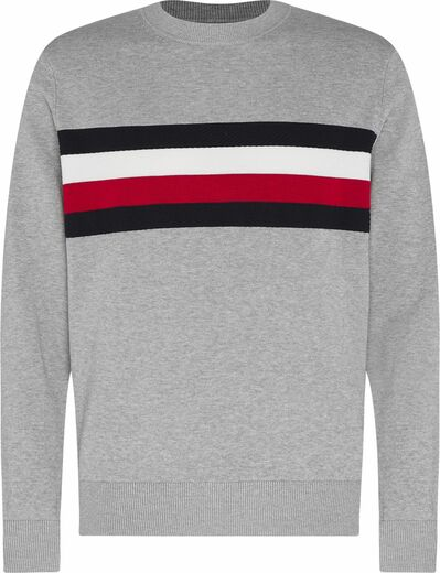 Tommy-Hilfiger-Global-Stripe-Crew-Neck-Neule